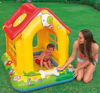 Intex 57429 Бассейн детский с навесом Дом