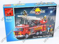 Конструктор BRICK 904 Пожарная тревога, 364 деталей