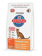 Hills (Хиллс)Science Plan Feline Adult - корм для взрослых кошек с ягненком 2кг