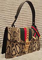 Модная и стильная сумка Gucci Гуччи эко-кожа