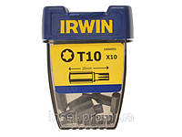 "Биты Irwin тип Torx T10 1/4"" / 25 мм ,10 шт."