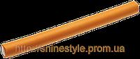 Гибкие бигуди-бумеранги 17 мм оранжевые короткие