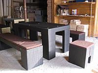 Мебель из ротанга (искусственного)