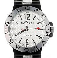 Мужские часы Bvlgari Titanium (копия) с кварцевым механизмом