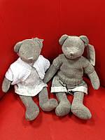 Пара Мишек Тедди, мягкая игрушка, мальчик/ девочка, Н30 см, вилюр, Подарки, Днепропетровск