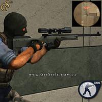 """Брелок снайперская винтовка из CS - """"Sniper"""""""