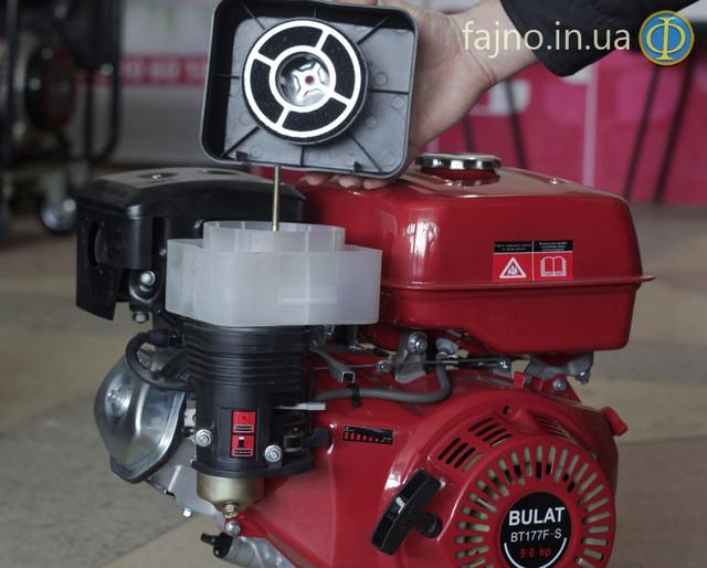 Бензиновый двигатель 9 л.с. Bulat BT-177F-S воздушний фільтр