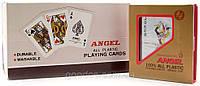 """Карты игральные """"ANGEL"""", 100% пластиковые, в коробке"""