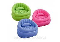 Надувное кресло Intex 68563 Cafe Chair ( без насоса)  91 х 102 х 65 см
