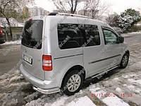 Защита заднего бампера на Volkswagen Caddy