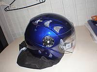 Шлем DVK QL-K51  синий  без челюсти