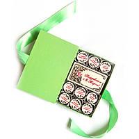 Подарки для женщин на 8 марта. Подарочный набор конфет с пожеланиями