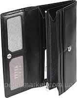 Кожаный женский кошелек Petek 466