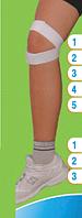 Повязка для коленного сустава FLEX 5892 Украина (размер 30-35 см)