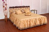 """Кровать двуспальная классическая из дерева """"Моника"""""""