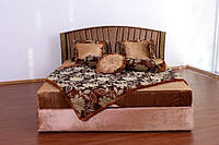 """Кровать классическая двуспальная из дерева """"Тереза"""""""