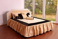 """Кровать двуспальная из дерева классическая """"Шарлотта"""""""