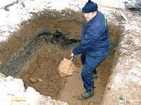 Копка выгребной ямы Киев. КОпка Сливной Ямы в Киеве