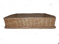 Плетеный лоток из лозы, фото 1