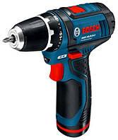Шуруповёрт аккумуляторный Bosch GSR 10.8-2-LI (0601868101)