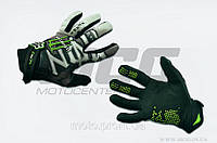 "Перчатки ""FOX"" (mod:Monster energy, art:3) (L, черно-белые)"