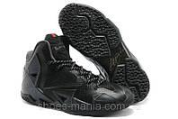 Баскетбольные кроссовки Nike Lebron 11 Черные
