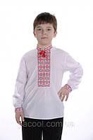 Вышиванка детская для мальчика. Вышивка крестом. Украинский народный традиционный костюм