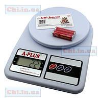 Электронные цифровые весы SF-400, 7 кг для кухни
