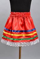 Вышитая юбка для девочек оптом и в розницу, фото 1