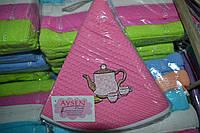 Набор кухонных полотенец Aysen вафелька треугольник 3шт. 50х70см. Турция