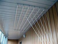 Сушка для белья 1.9м на 6 прутьев потолочная Польша