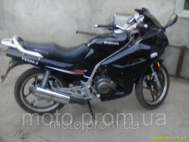 Мотоцикл на запчасти musstang ym mt 200 кубов