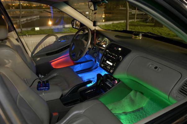 Как сделать в машине светодиодную подсветку