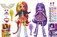 Набор из 2 кукол My Little Pony Equestria GirlsTwilight Sparkle and Sunset Shimmer