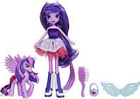 Набор кукла Искорка с пони, Твайлайт Спаркл, Twilight Sparkle with Pony My Little Pony Equestria Girls