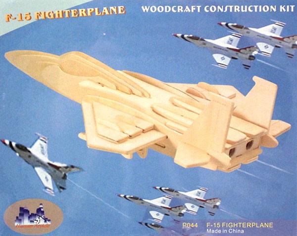 Самолёт F-15 - сборная 3D