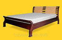 Кровать из натурального дерева Тис Ретро 2