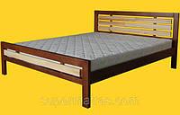Кровать из натурального дерева Тис Модерн 1