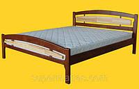 Кровать из натурального дерева Тис Модерн 2