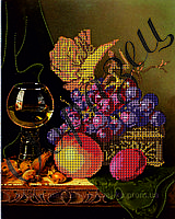 Схема для вышивки бисером Голладский натюрморт КМР 3118