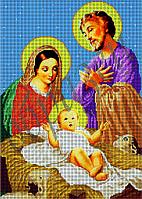 Схема для вышивки бисером Святое семейство КМР 3124