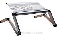 Столик для ноутбука Omax A6L; мини-трансформер; 1,86кг; (серебристый)