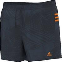 Плавательные шорты Adidas 3 Stripes Printed Short Very Short Length(D87189)