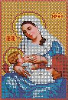 Схема для вышивки бисером Икона Богородиця-годувальниця КМИ 5060