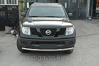 Защитная дуга по бамперу Nissan Qashqai одинарная