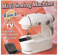 Мини швейная машинка 4 в 1 + педаль