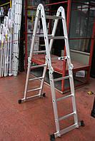 Лестница алюминиевая трансформер 4х3 ТМ Triton