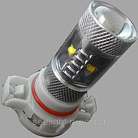 Автомобильная светодиодная лампа с цоколем H16(PS24W) Cree 30W 9-30V в противотуманные фонари