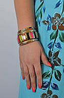 Браслет ручной работы разноцветный с костью, 70 грн оптом