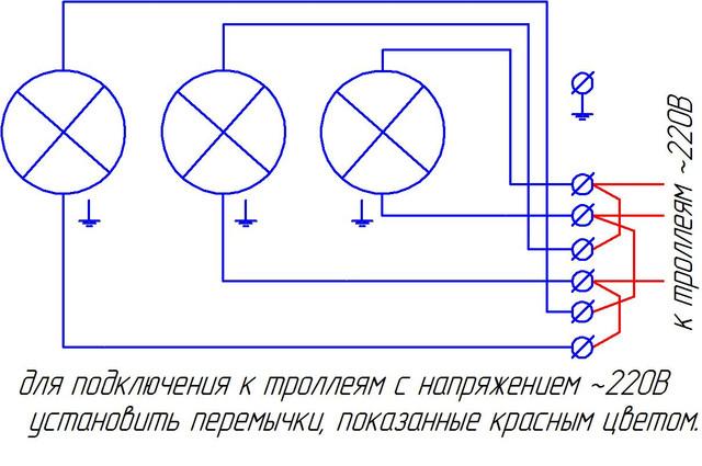 Светофор сигнальный типа